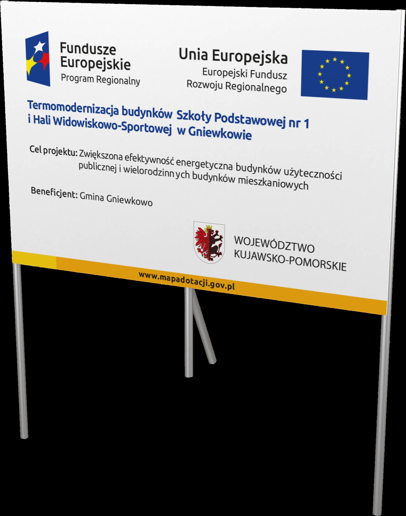 Tablice unijne Vis-media agencja reklamowa