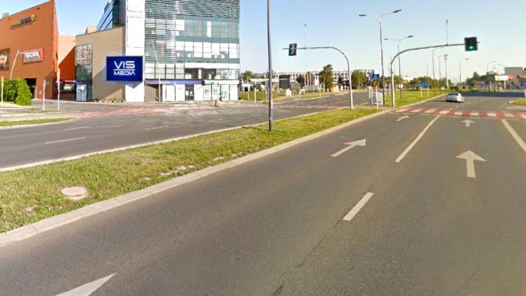Telebim ulica Rejtana 20 w Rzeszowie, agencja reklamowa Vismedia