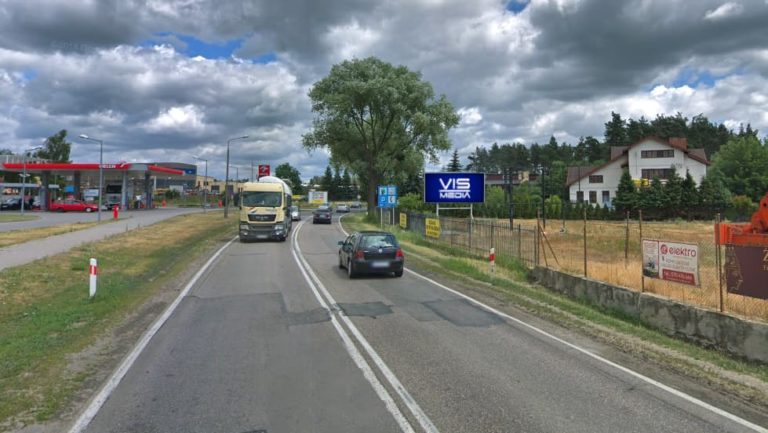 billboard Brodnica ulica Sikorskiego 12 m2