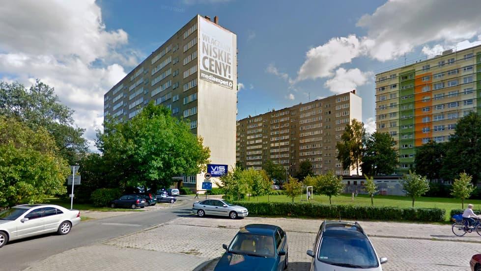 billboard 12 m2, Pabianice, ulica Łaska 90